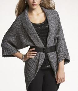 Cocoon Sweater Coat ($108, express.com)