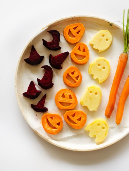 Legitimately Good Halloween Recipes: Halloween Roasted Vegetables | Halloween treats 2017
