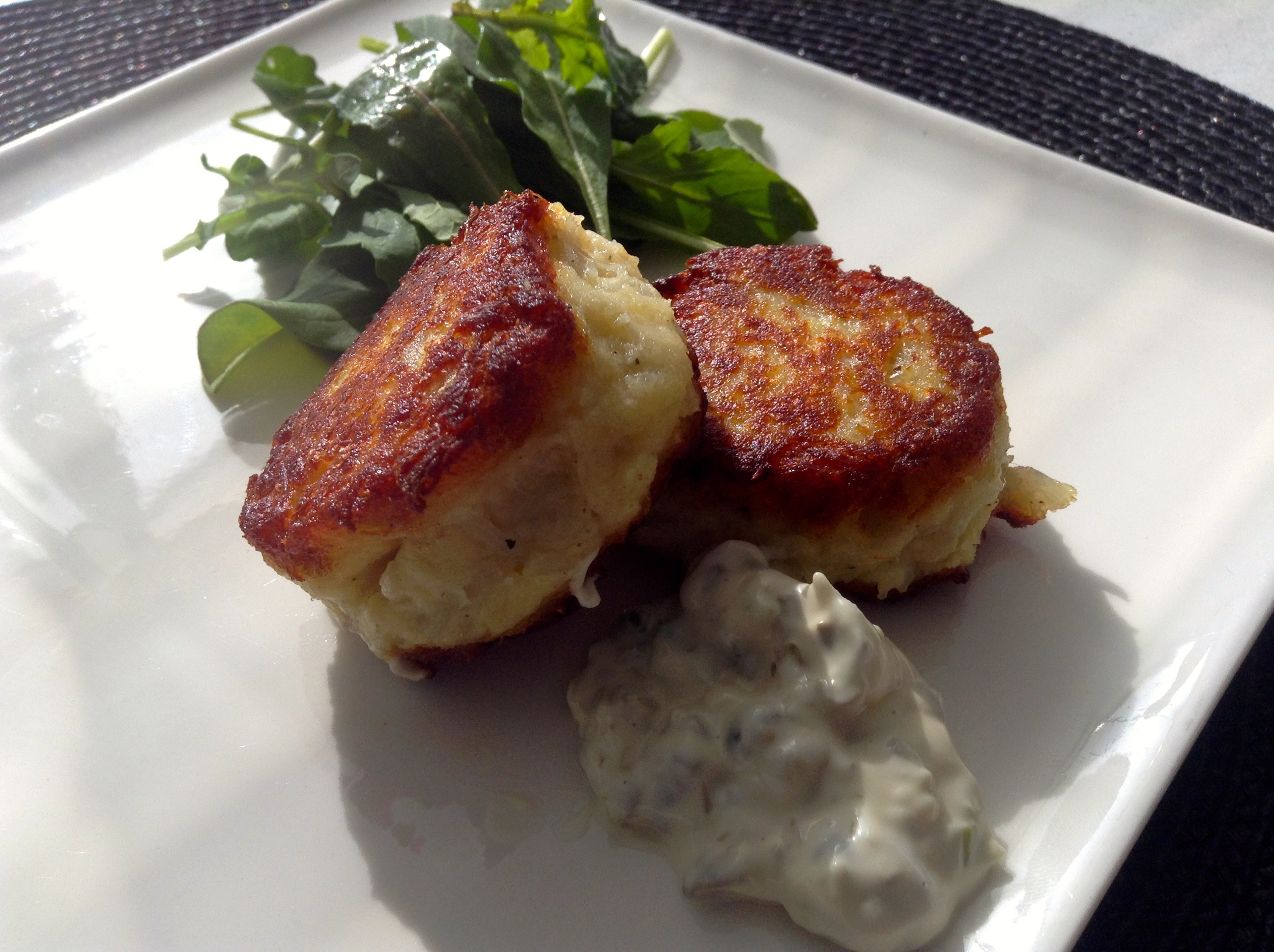 Salt Cod and Potato Cakes