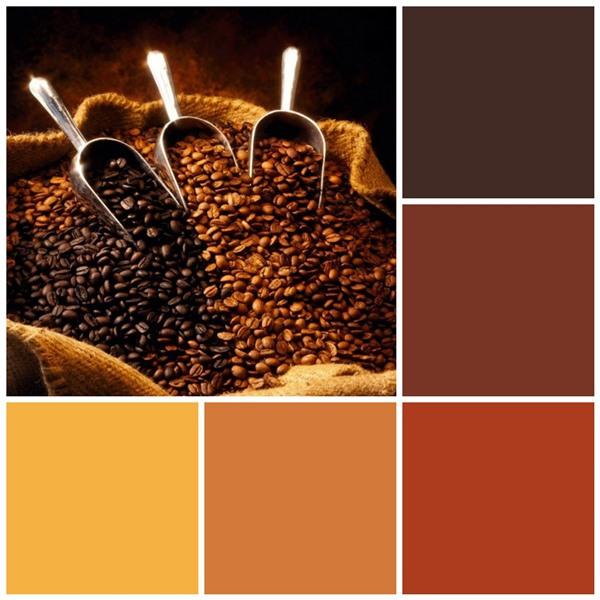 Coffee house color scheme