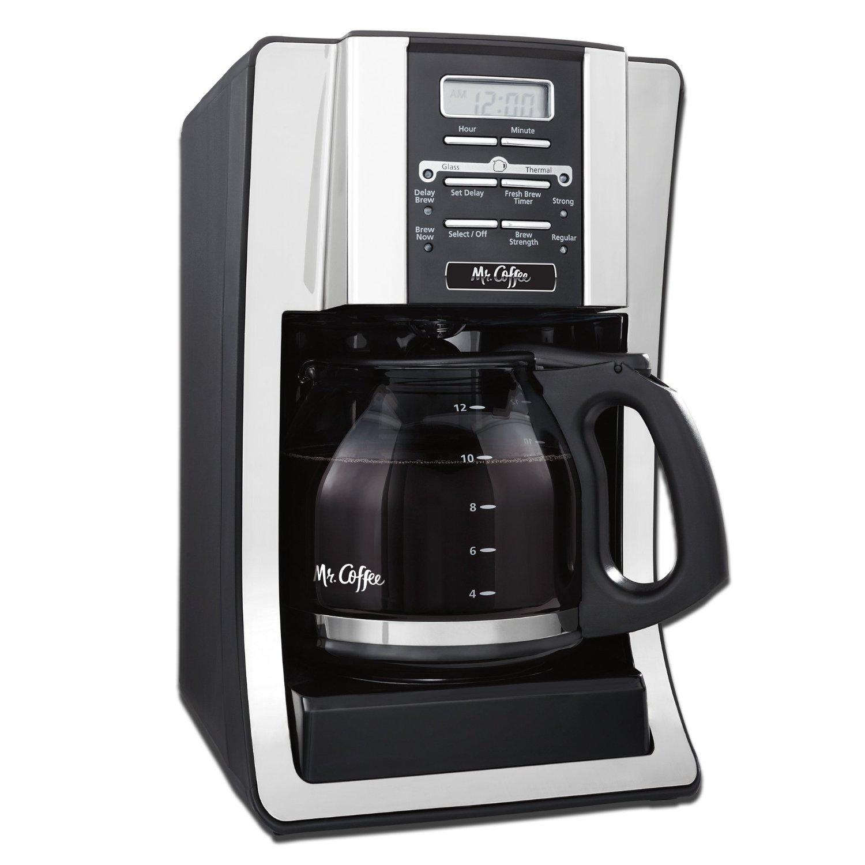 mr. coffee coffee maker, programmable