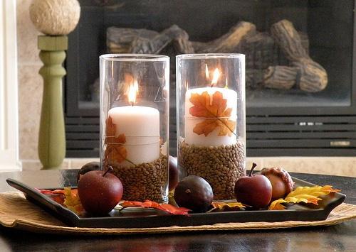 Coffee table décor