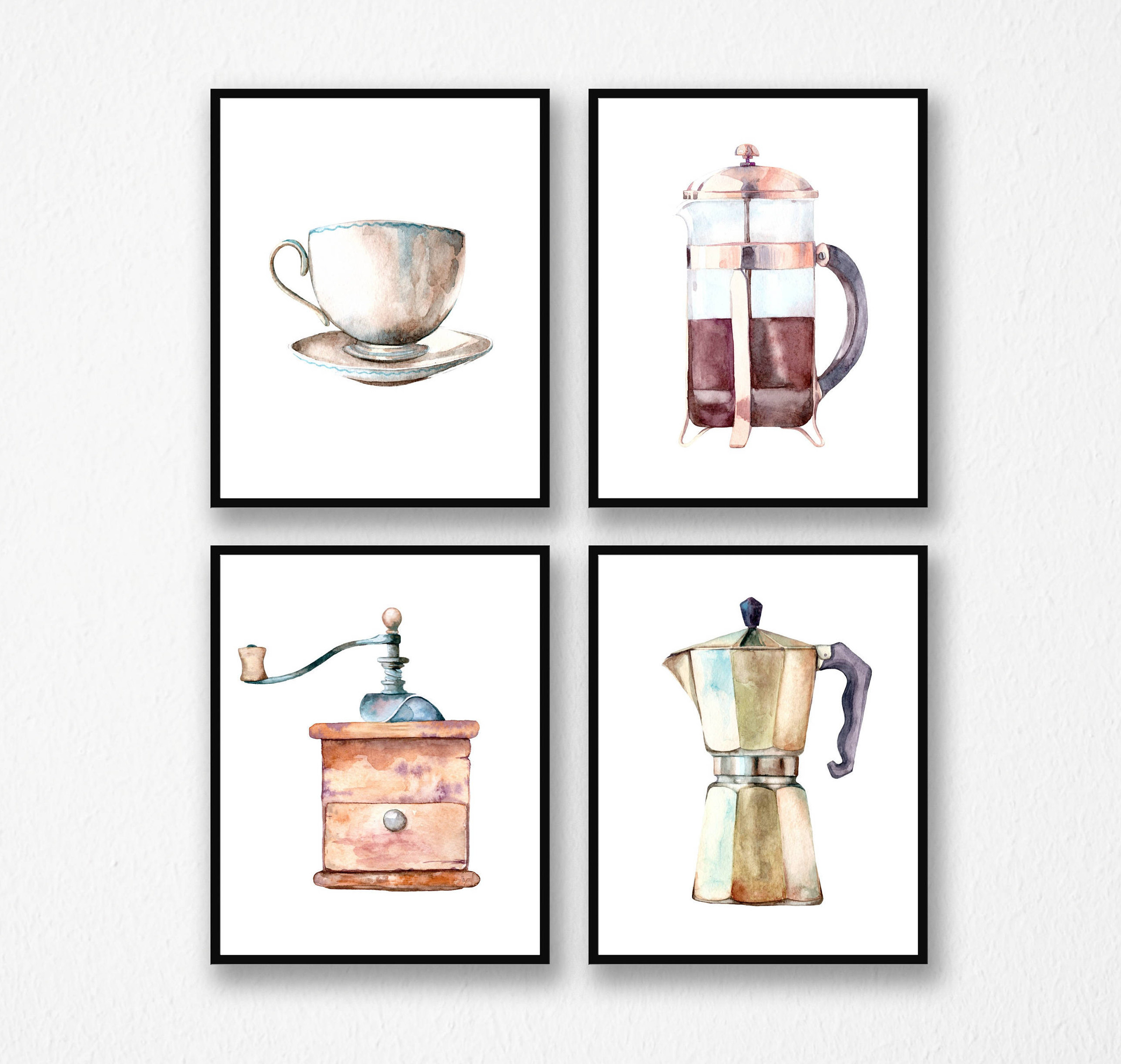 Display your love for all things caffeinated with this art