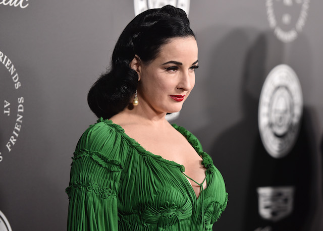 Check out these celebrities' Starbucks orders: Dita Von Teese