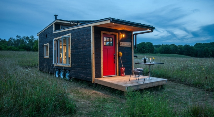A Look Inside Some of the Most Glamorous Tiny Homes for Sale: greenmoxie tiny house