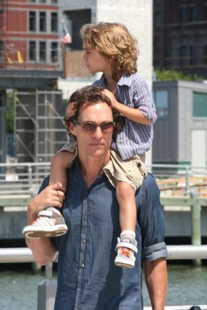 Matthew McConaughey clears up the baby