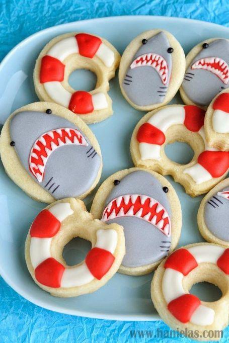 shark sugar cookies