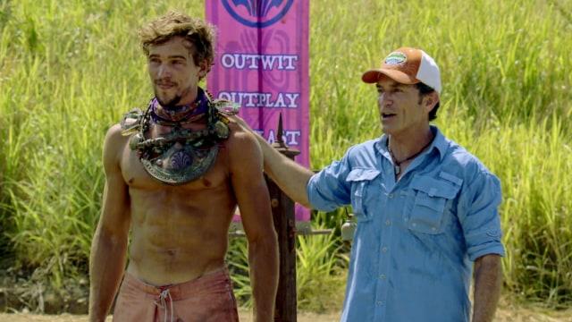 Cole Medders wins Immunity on Survivor: Heroes Vs. Healers Vs. Hustlers