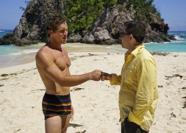 Cole Medders and Mike Zahalsky on Survivor: Heroes Vs. Healers Vs. Hustlers