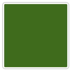 Color blocking army green
