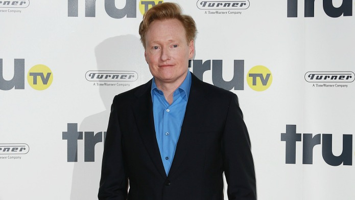 Conan O'Brien joins Grindr, gets busy
