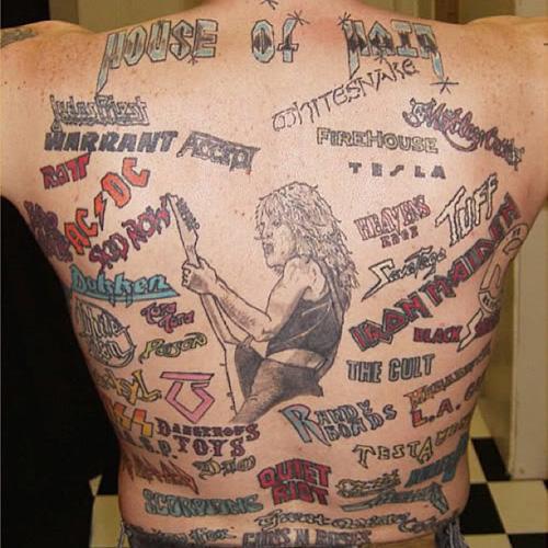 Concert tattoo