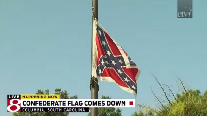 Confederate flag finally removed from South