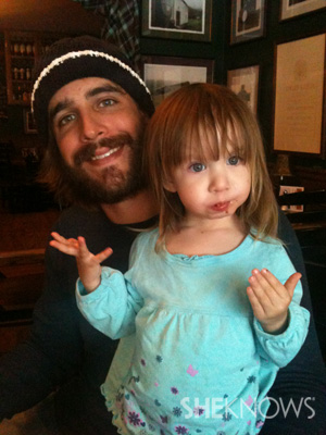 Spencer and daughter