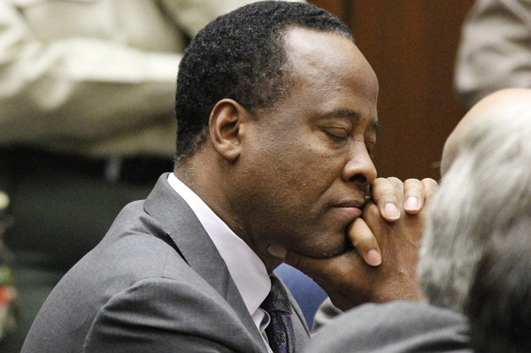 Conrad Murray has regrets about his trial
