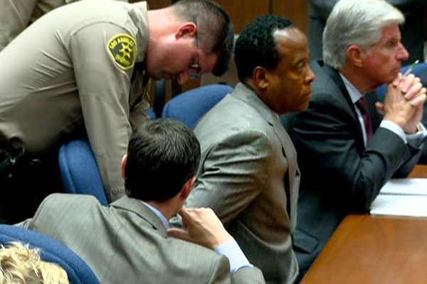 Conrad Murray convicted of killing MIchael Jackson