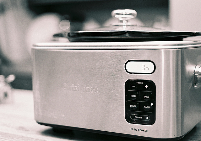 cook pasta in the slow cooker