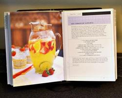Use a cookbook stand