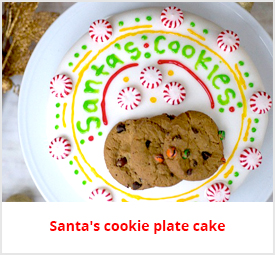 cookie plate cake