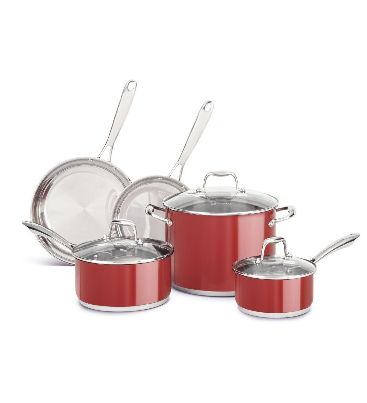 kitchenaid cookware set