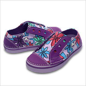Crocs Hover Easy-on Floral Sneakers