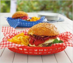 plastic burger basket