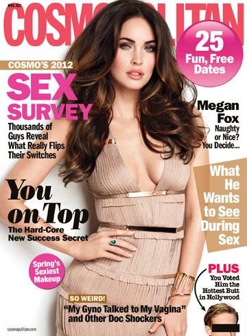 Cosompolitan -- April 2012
