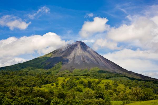 Costa Rican Volcano