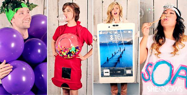 Diy Halloween Costume Ideas Thatre Super Easy But Actually