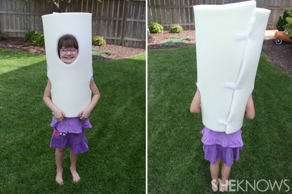 Cotton Candy Halloween costume -- fit to child
