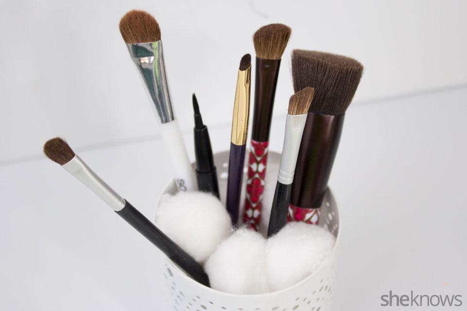 Brush Storage