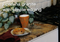 Juparana granite countertops
