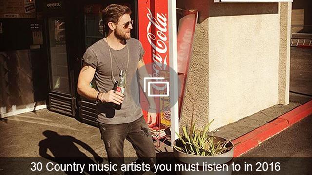 country music 2016 slideshow