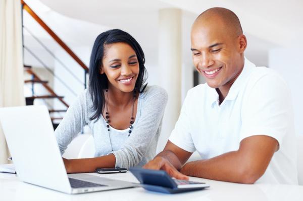 couple saving their finances