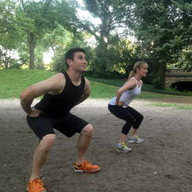 Lunge and Squat