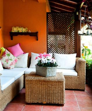 Cozy patio/porch