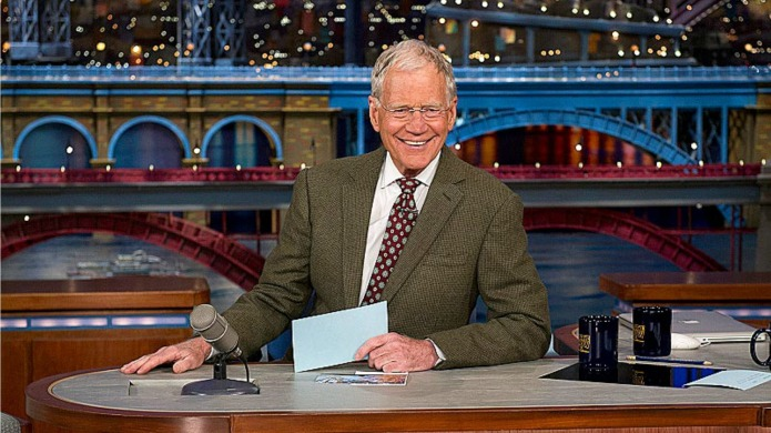 David Letterman's getting help from huge