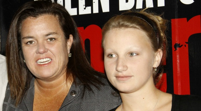 Rosie O'Donnell gives ultimatum to daughter
