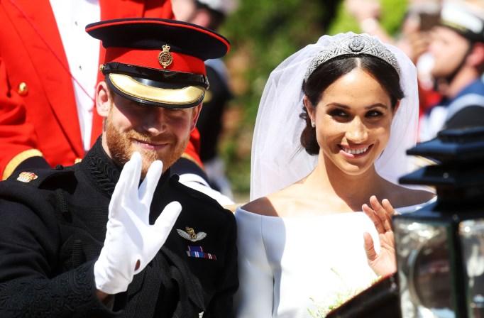 Prince Harry & Meghan Markle's royal wedding