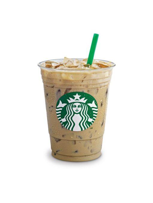 Iced skinny flavored latte Starbucks