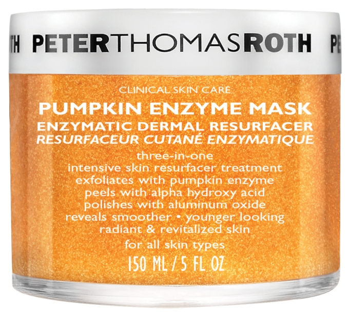 Pumpkin Beauty Products to Buy Now: Peter Thomas Roth Pumpkin Enzyme Mask Enzymatic Dermal Resurfacer | Fall Beauty 2017