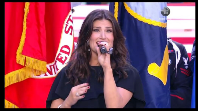 Idina Menzel stole the show before