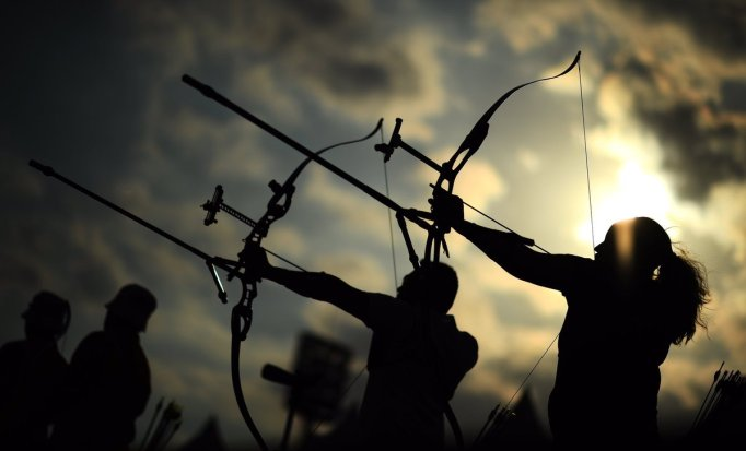 Olympic archery and shooting