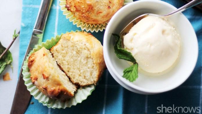 Ice cream muffins: 2 ingredients, 30