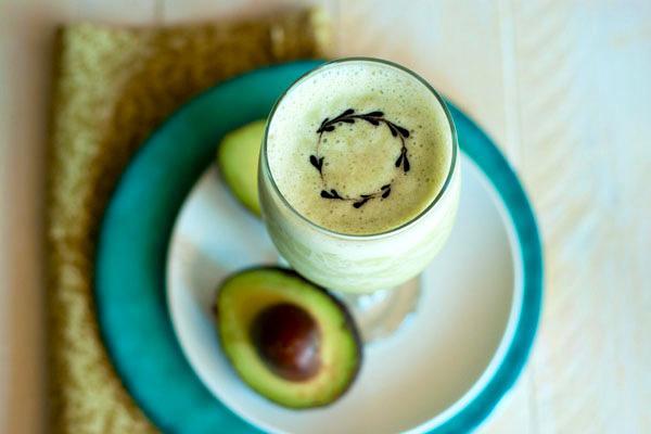 creamy avocado daquiri