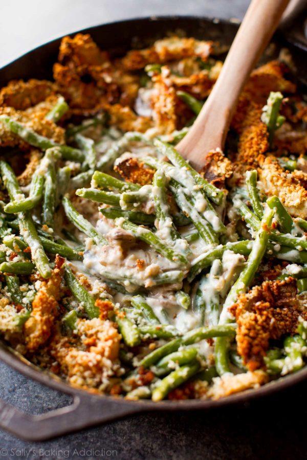 Best Christmas Food and Drink: Green bean casserole