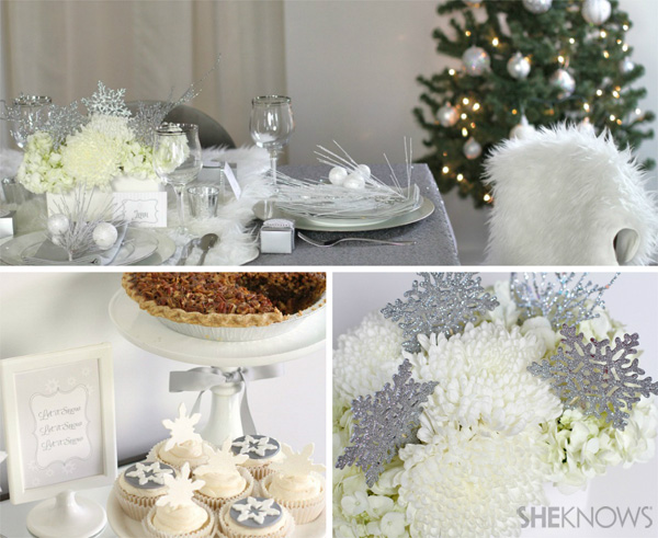 Create a winter-wonderland holiday party | SheKnows.com