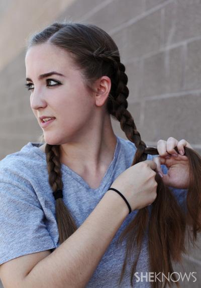 How to make Dutch braids   SheKnows.com
