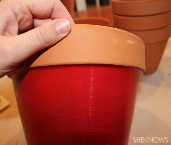 Painting pots