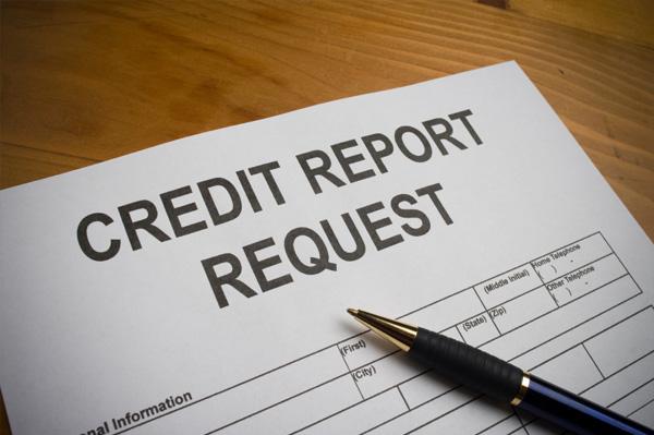 Credit report request